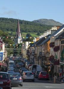 Hauptstraße Kenmare in Irland