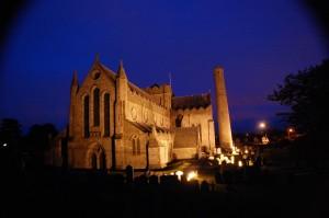 medium-Cathedral at night