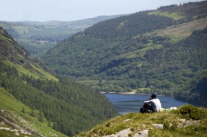 Wicklow Mountains Wanderaussicht